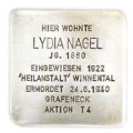 Martin-Luther-Straße 11, Stolperstein verlegt am 30. April 2010.